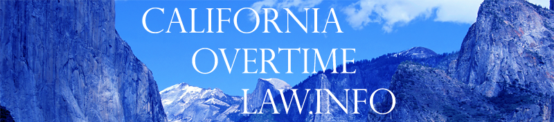 California Overtime Law